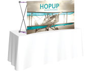Hop Up™ • 2×1 Curved Tabletop Display