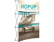 Hop Up™ • 2×3 Curved Pop Up Display