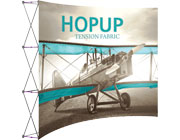 Hop Up™ • 4×3 Curved Pop Up Display