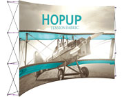 Hop Up™ • 5×3 Curved Pop Up Display
