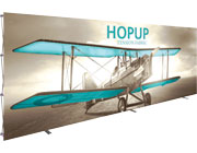 Hop Up™ • 8×3 Straight Pop Up Display