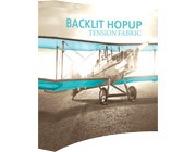 Hop Up™ • 3×3 Backlit Pop Up Display