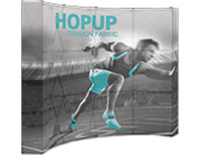 Hop Up™ • 4×3 Backlit Pop Up Display