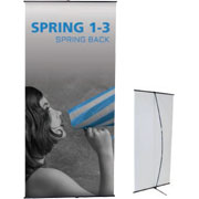 Spring™ 1-3 Tension Banner Stand