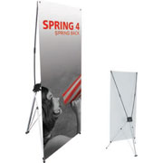 Spring™ 4 Tension Banner Stand