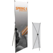 Spring™ 6 Tension Banner Stand