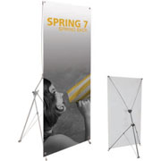 Spring™ 7 Tension Banner Stand