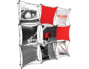 Xclaim™ Fabric Popup Display • 3×3 Kit 01