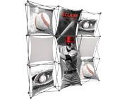 Xclaim™ Fabric Popup Display • 3×3 Kit 05
