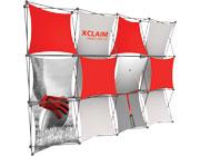 Xclaim™ Fabric Popup Display • 4×3 Kit 04