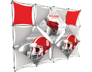 Xclaim™ Fabric Popup Display • 4×3 Kit 05