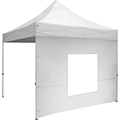 10′ Tent Window Wall • White