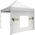 10′ Tent Window Wall w/ Imprints