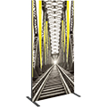 Vector Frame • 35″ × 70″ Rectangle Tension Fabric Sign