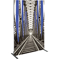 Vector Frame • 47″ × 70″ Rectangle Tension Fabric Sign