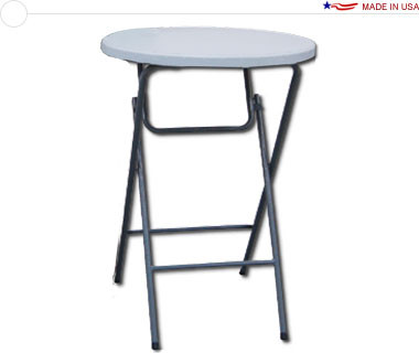 Showgoer   Bar Height Round Table
