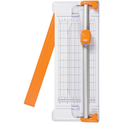"Fiskars Deluxe Portable Rotary Paper Trimmer 12"", with swingout arm, Scrapify, Australia"