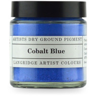 Langridge Dry Ground Pigment 120ml - Cobalt Blue, Scrapify, Australia