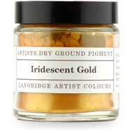 Langridge Dry Ground Pigment 120ml - Irridescent Gold, Scrapify, Australia
