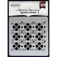 Donna Downey Signature Series Stencils - Happy Flowers
