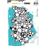 Carabelle Studio Cling Stamp A5, Circles & Dots, Scrapify, Australia