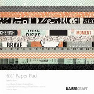 Kaisercraft  6.5in, Paper Pad, Mister Fox , Design paper, 40 Page Pad, 2x12 sheets Designed Paper, 12xSpecialty Papers, 4xDie Cut Pages, Scrapify, Australia