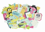 Kaisercraft  Collectables, Happy Snaps, Die Cut Shapes over 50 pcs, Scrapify, Australia