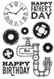 Kaisercraft, Clear Stamps Factory 42, 6 x 4, Scrapify, Australia