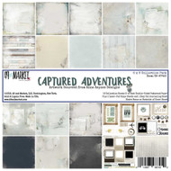 49 and Market, 6×6 Captured Adventures Collection Pack, Scrapify, Australia