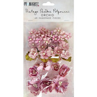 49 and Market, Vintage Shades Potpourri – Orchid, Scrapify,  Australia