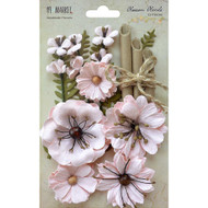 49 and Market, Flowers, Blossom Blends – Natural Blush, Scrapify, Australia