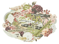 Kaisercraft  Collectables, Die Cut Shapes, over 40 pcs, Gypsy Rose,  CT941,  Scrapify, Australia