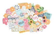 Kaisercraft  Collectables, Die Cut Shapes, over 40 pcs, Havana Nights,  CT897,  Scrapify, Australia