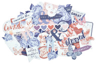 Kaisercraft  Collectables, Die Cut Shapes, over 40 pcs, Misty Mountain,  CT933,  Scrapify, Australia