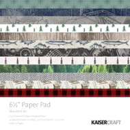 "Kaisercraft  Paper Pad 6.5""x6.5"",  Mountain Air, PP1049, Scrapify, Australia"