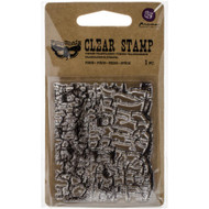 Finnabair Clear Stamp - Crackle at Scrapify, Australia