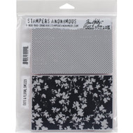 Tim Holtz Stampers Anonymous - Dots & Floral - Cling Rubber Stamp Set, Scrapify, Australia