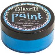 Dylusions Paint 2oz - London Blue, Scrapify, Australia