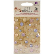 Prima Marketing-Tales Of You And Me - Say It In Crystals Adhesive Embellishments, Scrapify, Australia