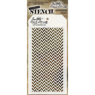 Tim Holtz Stampers Anonymous - Layering Stencils - Herringbone, Scrapify, Australia