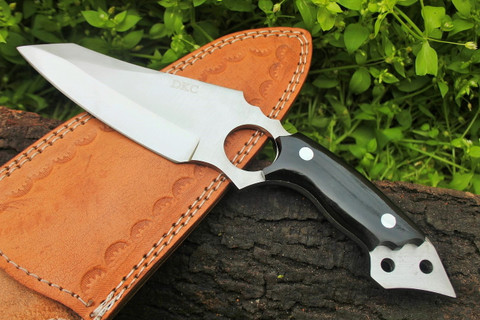 """DKC-88 BAT D2 Steel Skinner Hunting Knife 9""""Long 8 oz High Class Looks Incredible Feels Great In Your Hand And Pocket Hand Made DKC Knives"""