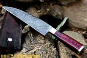 DKC-194 ZATORI CHEF Knife Damascus Blade