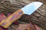 "DKC-722-440c BUCK BOY Stainless Steel Hunting Knife Damascus Steel Blade 6.3oz 7"" Long 3"" Blade Long DKC Knives TM"