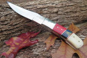 DKC-720-440c RED BIRD Stainless Steel Bowie Hunting Handmade Knife Fixed Blade