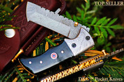 "DKC-27- WIZARD Tanto Folding Pocket Knife 7"" Long 4"" Folded 6 oz DKC Knives"