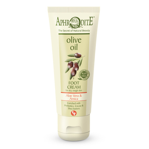An energizing, fast absorbing foot cream leaves the feet soft and relieved after an exhausting day