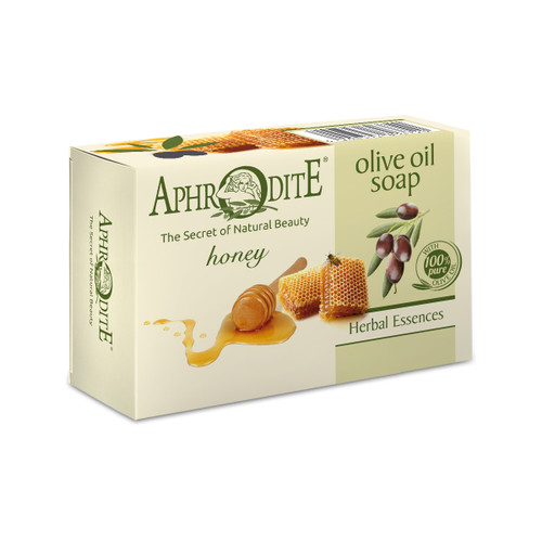 Moisturizing olive oil soap with thyme honey for dry or normal skin