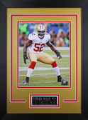 Patrick Willis Framed 8x10 San Francisco 49ers Photo (PW-P5D)