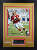 Steve Young Framed 8x10 San Francisco 49ers Photo (SY-P3D)