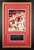 Colin Kaepernick Framed 8x10 San Francisco 49ers Photo with Nameplate (CK-P1C)